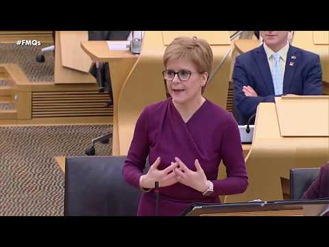 First Minister's Questions - 19 March 2020