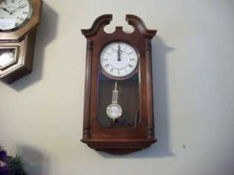 Howard Miller Battery Operated Colonial Style Wall Clock YouTube