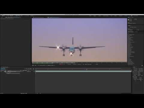 Motion tracking Knoll Light Factory EZ in Adobe After Effects