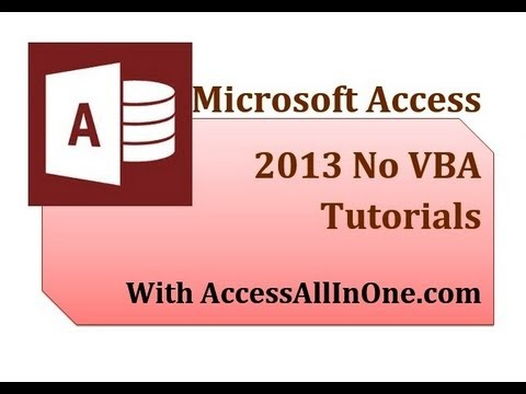 Access 2013 10 - Opening A Form To A Specific Record