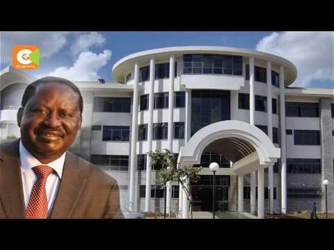 NASA leader, Raila Odinga rushed to hospital after falling sick