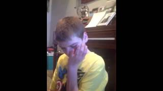 Nonverbal teenager finally using sentences with AAC device