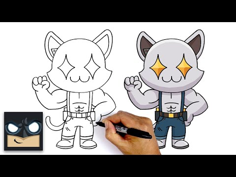 How To Draw Ghost Meowscles | Fortnite