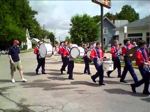 South Dearborn High School Marching Band @ 2009 Dillsboro Parade