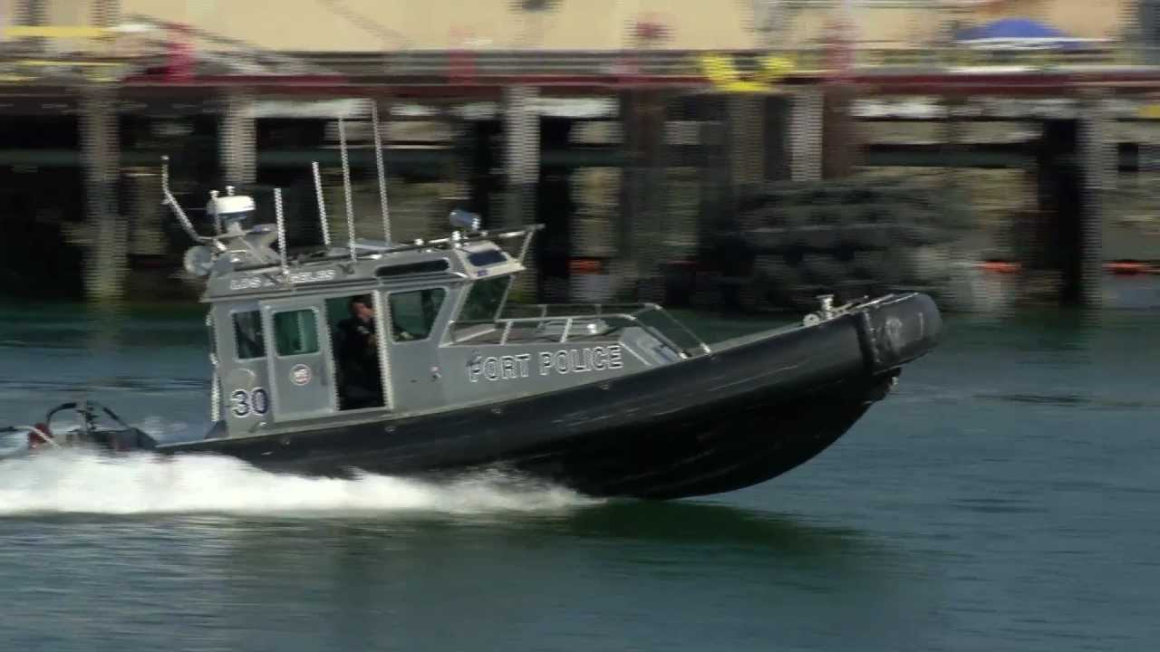 Los angeles port police protecting port and nation youtube for La port police