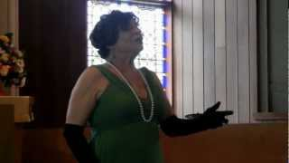 """Gina Colao Decker  O Sole mio,   From Bouquet of Song"""" concert of April 15, 2012"""