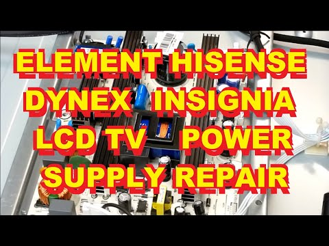 Repair A Flat Screen LCD TV With Power Issues - Power Board?