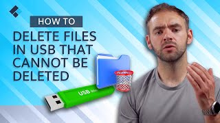 How to Delete FiĮes in USB That Cannot Be Deleted? [4 Methods]