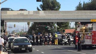 Police Chase San Fernando Valley