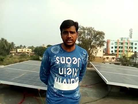 3kva Solar Off grid System at Odisa completed by BSS Energy, call 9811442146 for more info