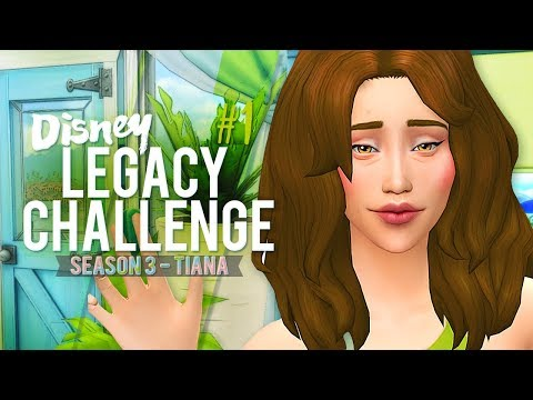 The Sims 4: Disney Legacy Challenge [S3]: part 1 🐸 Let's Get to Work!