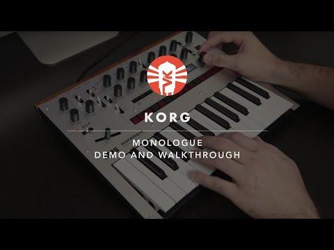 Korg Monologue Demo | Synthesizer | Vintage King