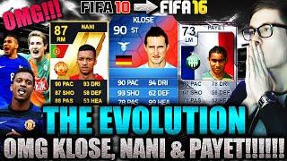 OMFG THE EVOLUTION FT KLOSE, NANI & PAYET! - FIFA 16: ULTIMATE TEAM (DEUTSCH) - HOLY SHIT!!
