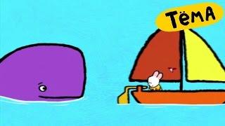 Рисунки Тёмы : Нарисуй кита! Развивающий мультфильм для детей и малышей