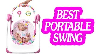 8 Portable Baby Swing 2017 | Best portable swing for your little one!