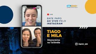 LIVE APMT com Tiago e Mila | Missionários na Tailândia