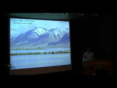 PhD defence - Coastal-sea-ice action on a breakwater in a microtidal inlet in Svalbard
