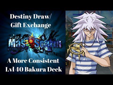 Destiny Draw/Gift Exchange | A More Consistent Lvl 40 Bakura Farm | YuGiOh Duel Links w/ MasKScarin