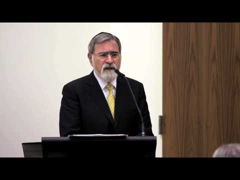 Rabbi Jonathan Sacks at the Catholic Center at NYU, Part IV