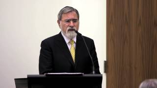 Rabbi Jonathan Sacks at the Catholic Center at NYU, Part IV