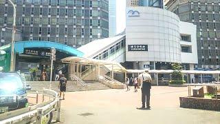 《乗り換え》新橋駅、メトロ銀座線からゆりかもめへ。 Shimbashi