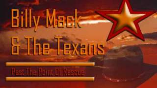 billy mack & the texans - past the point of rescue