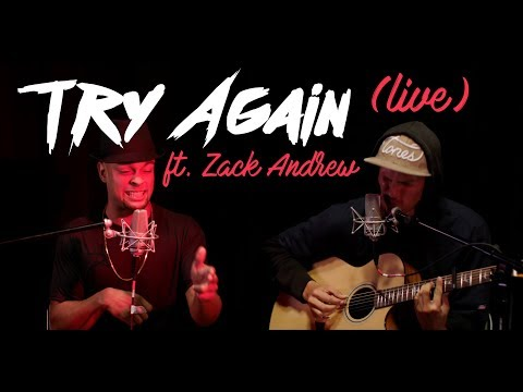 JEFF TURNER   Try Again X Cry Me A River (Live)     ft. ZACK ANDREW