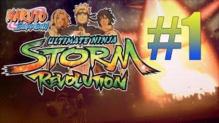 Naruto Shippuden Ultimate Ninja Storm Revolution Gameplay En Español (La Creacion de los Akatsuki)