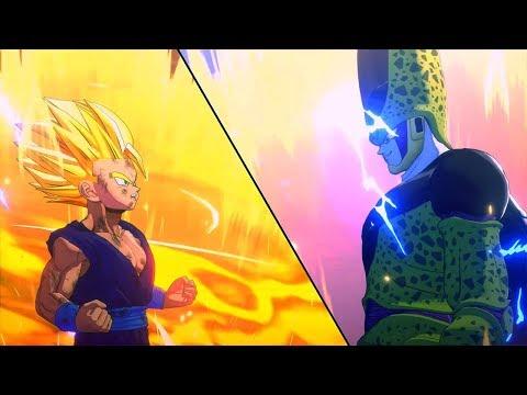 Dragon Ball Z: Kakarot Full Cell Saga All Cutscenes (Game Movie) DBZ Kakarot 2020