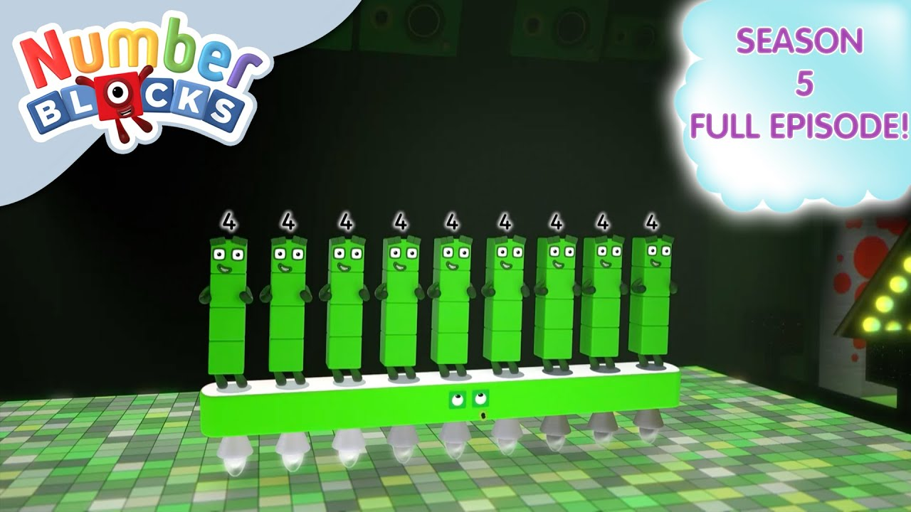 Download  @Numberblocks- Four On The Floor 💃| Shapes | Season 5 Full Episode 24 | Learn to Count