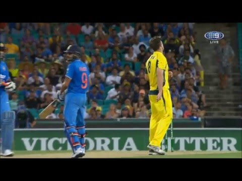 Cricket - India win ODI thriller in Sydney (final 3 overs)