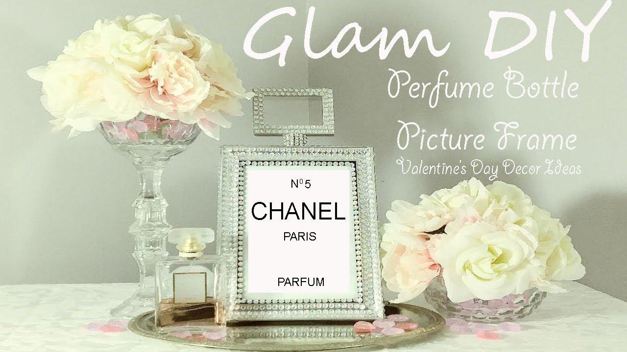 Dollar Tree Diy Glam Perfume Bottle Frame Zgallerie