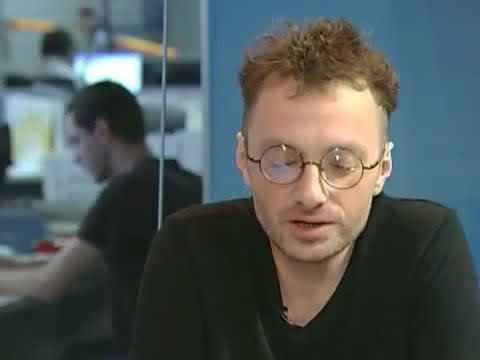 """Глеб Самойлов (The Matrixx ex-АгатаКристи) в программе """"Музыкальные пристрастия"""", 2010 год"""