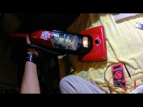 Fixing Dirt Devil Junior Vacuum With Electrical Corrosion And Continuity Issues