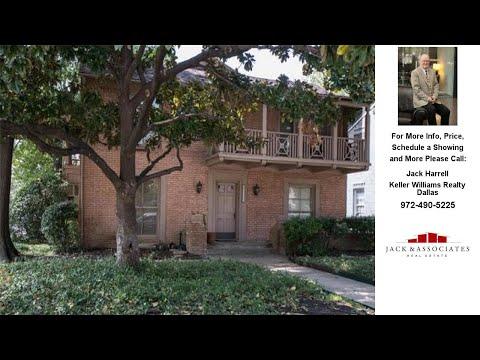 4501 Emerson Avenue, University Park, TX Presented by Jack Harrell.