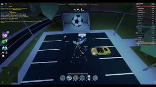 GETTING THE SOCCER BALL INTO THE NET ROBLOX JAILBREAK PART 2
