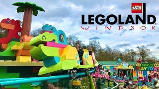 LEGOLAND Windsor Duplo Dino Coaster Vlog 14th March 2020
