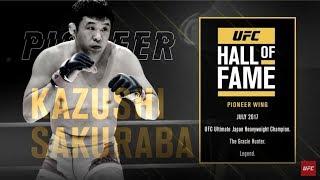 Hall da Fama do UFC: Kazushi Sakuraba