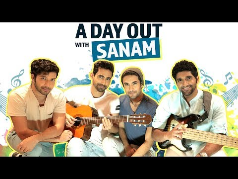 Sanam Mennu | A Day Out with Sanam | The making of Sanam Mennu | Pinkvilla | Bollywood