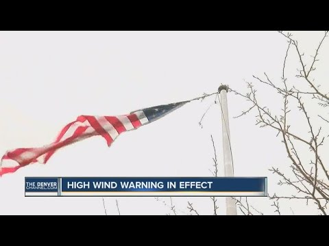 Windy conditions prompt warnings as damage racks up