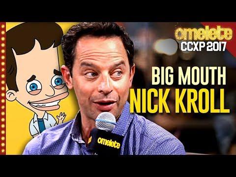 A safadeza de Big Mouth com Nick Kroll na CCXP
