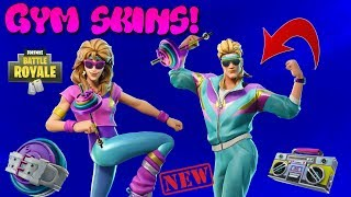 "*NEW* LEAKED GYM SKIN ""Aerobic Assassin + Mullet Marauder "" 3D PREVIEW 