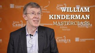 Masterclass amb William Kinderman - Liceu Cambra