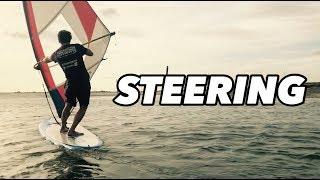 BEGINNER WINDSURFING: HOW TΟ STEER