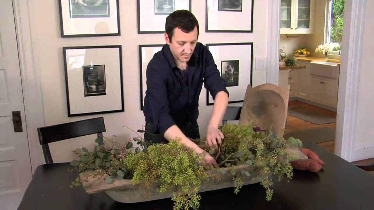 How To Create A Vegetable Centerpiece With Nico De Swert