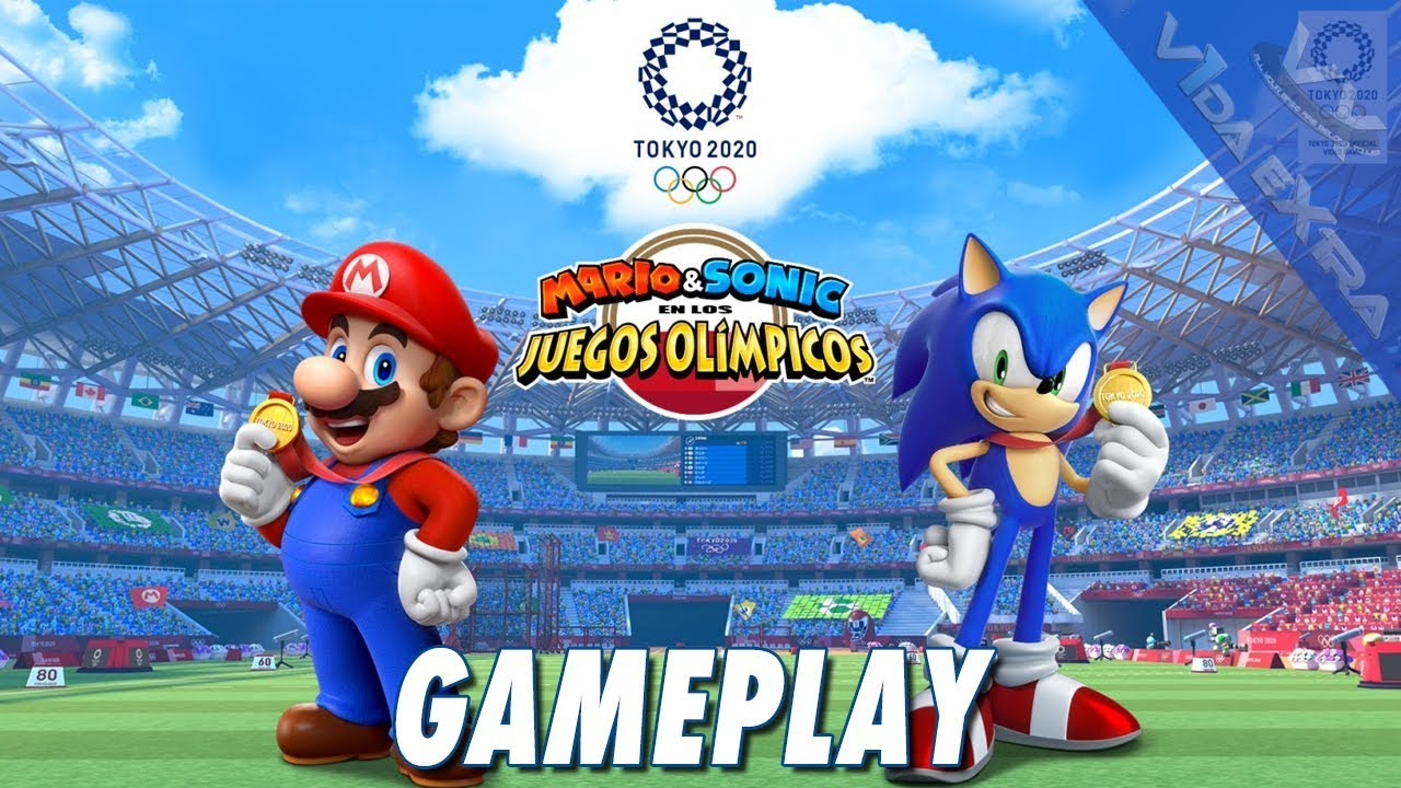 Mario Sonic En Los Juegos Olímpicos Tokio 2020 Gameplay En Switch No Comentado Youtube