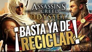 Assassin's Creed Odyssey | ¡ES UN JUEGO RECICLADO! Comparación con ORIGINS y sus PROBLEMAS-EVOLUCIÓN