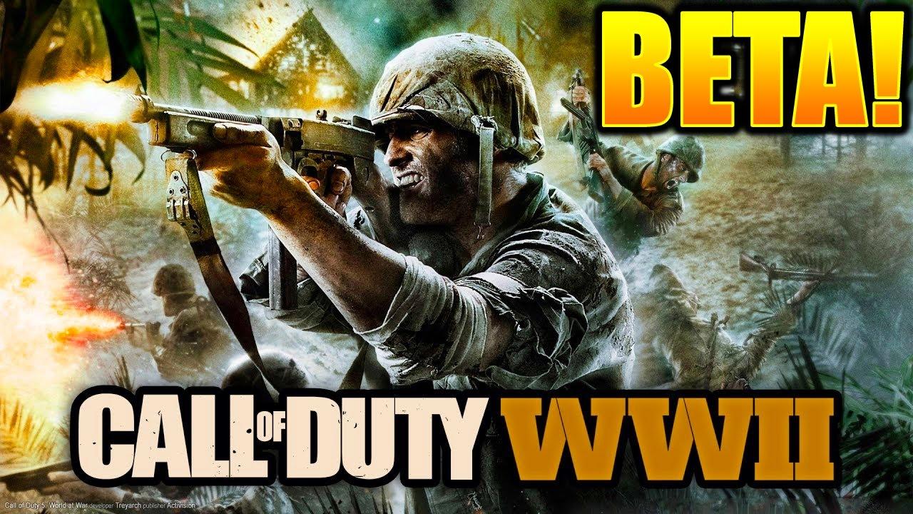 World at war 2 beta giveaway