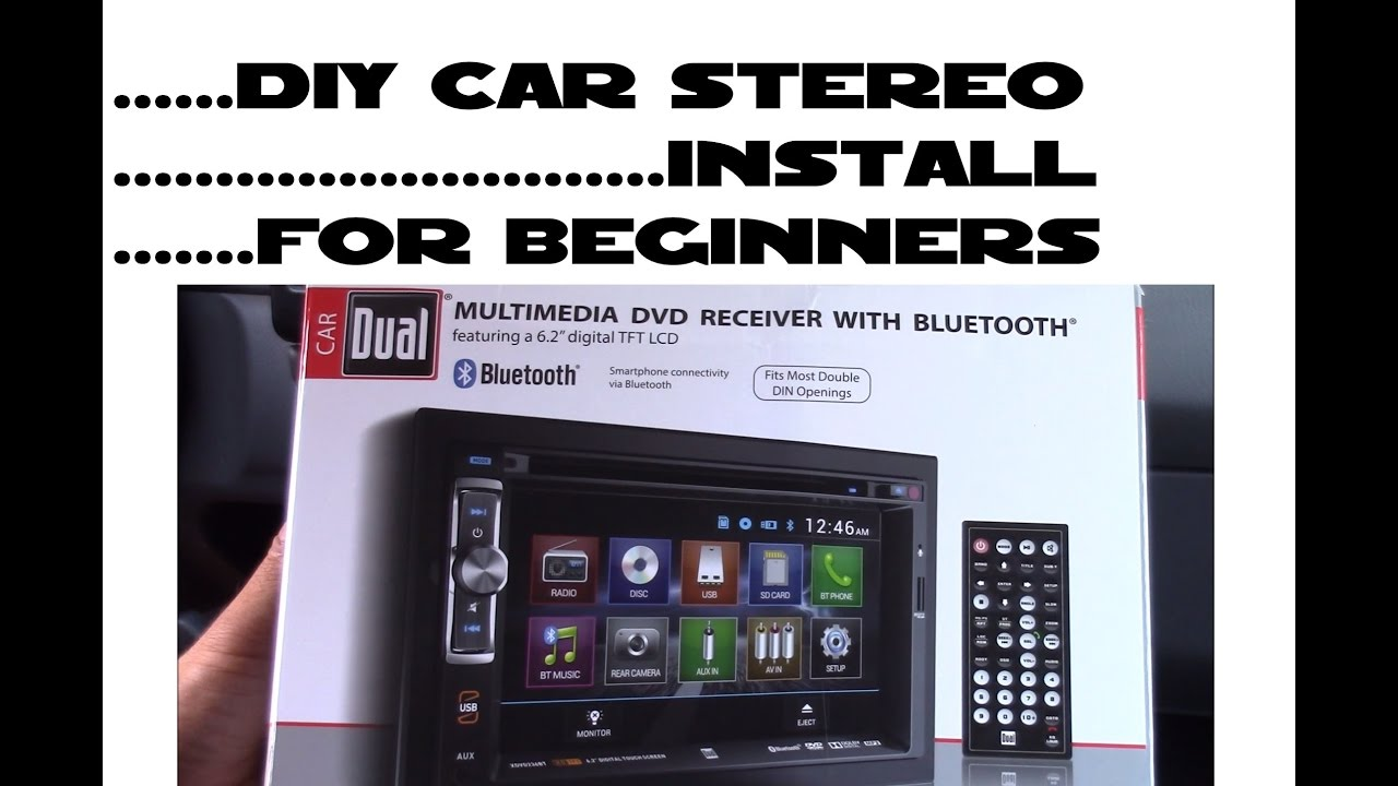 How To Install Car Stereo For Beginners Diy Youtube 2010 Ford Crown Victoria Lx Radio Wiring Diagram