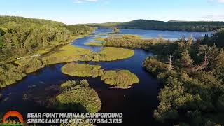Bearpoint Marina & Campground, Sebec Lake Maine